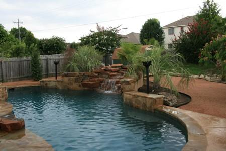 Express Free Form Pools Round Rock Tx Pool Builders