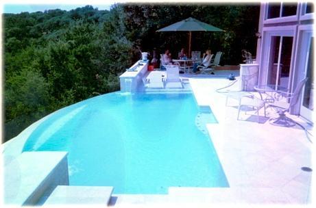 Negative & Wet Edge Pools Austin - Pool Builders Round Rock TX ...