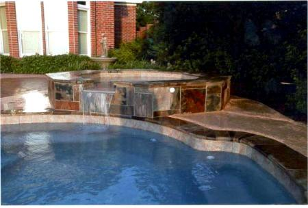 Pools With Fountains Waterfalls Pool Builders Round Rock Tx Pool Remodeling Renovations